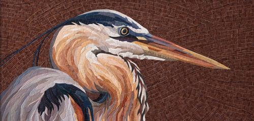 """""""Poised"""" - a Fine Paper Mosaic"""