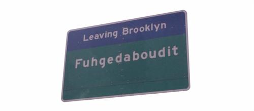 FUHGEDABOUDI!!!!....Brooklyn NY