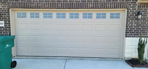 New Door with Windows and Trim