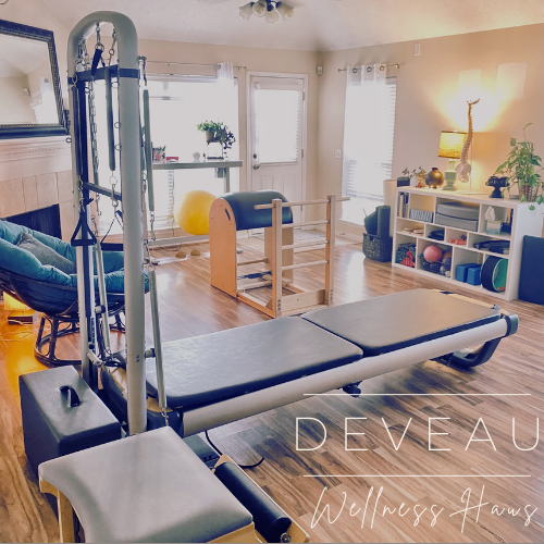 Deveau Wellness Haus' private pilates equipment studio.