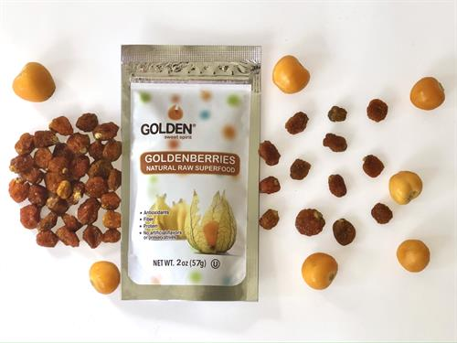 GOLDEN Dried and fresh goldenberries