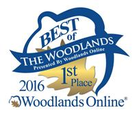 Best of The Woodlands 1st Place Winner 2016