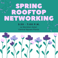 Spring Rooftop Networking