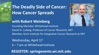 Spring into Science - The Deadly Side of Cancer: How Cancer Spreads with Robert Weinberg