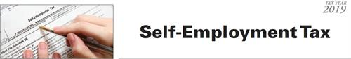 Self Employment Tax - Want more info?  irene@iw-cpa.com