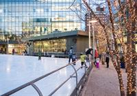 Kendall Square Skating Rink | Cambridge, MA