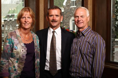 Excited to have the pleasure of meeting Chris Hadfield.
