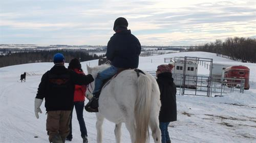 Winter ride on Whoopi