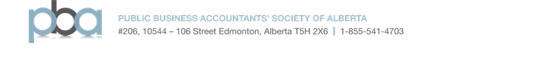 Public Business Accountants' Society of Alberta