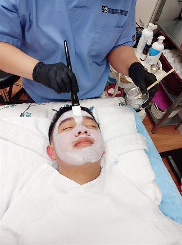 snaxnrelax classic facial mask procedure