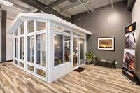 Our New Showroom featuring Extended Season Sunroom