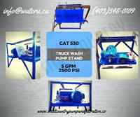 Cat 530 Truck Wash Pump Stand
