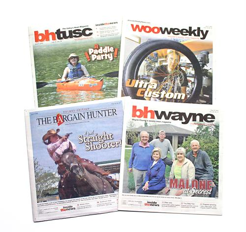 The Bargain Hunters and the Wooster Weekly News are locally crafted and strategically distributed in Holmes, Tuscarawas and Wayne Counties.