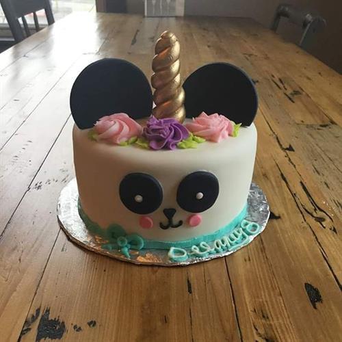 Panda Unicorn Cake