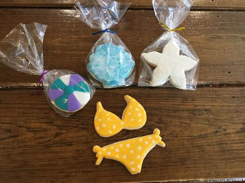 Summer Decorated Sugar Cookies