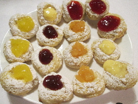 Lemon Cookies also with other fruit fillings