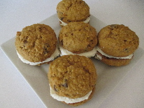 Pumpkin Cookie Whoopie Pies