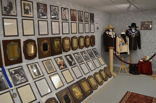 Plaques of Hall of Fame Inductees dating back to 1978.