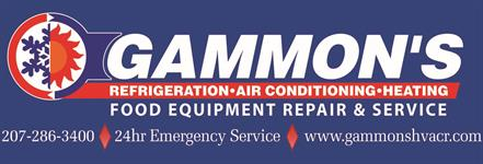 Gammon's HVACR & Food Equipment Repair