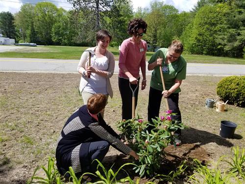 Spring Planting at Sarah Frye