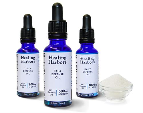 THC Free Daily Defense Oils