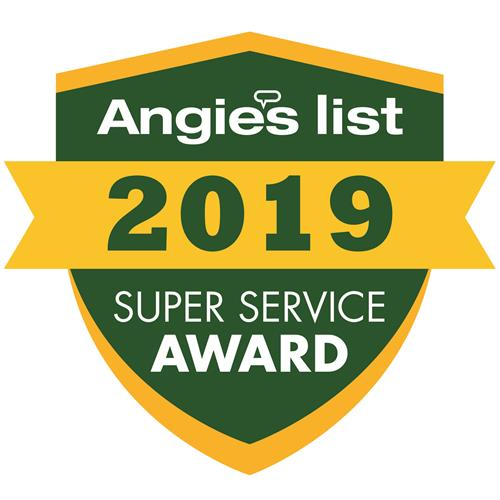 AngiesList Super Service Award 2019