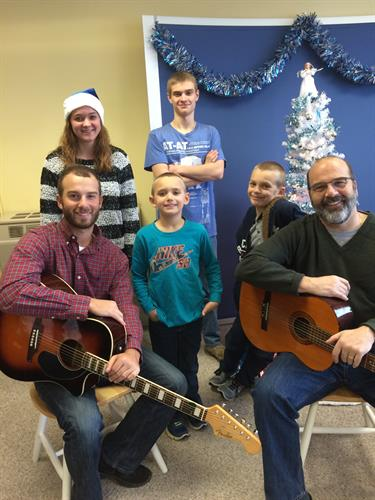 December 2015 Christmas Party at the agency with Ernie and Scott Gagne as special guests!