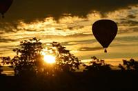 Shot from the Great Falls Balloon Festival