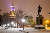 Kennedy Park in Snow - Benjamin Williamson Photography