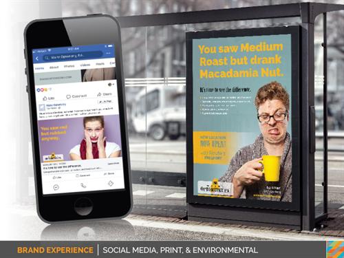 Social Media, Print & Environmental