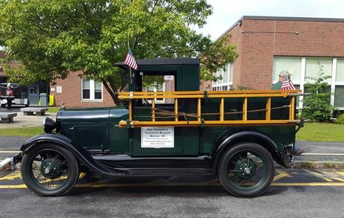 Be sure to ask to see the Ford Model A - 1928 Lineman Truck.