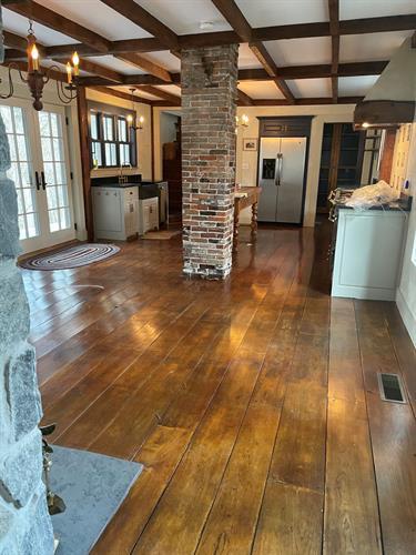 Shiny Floors Finish it up!