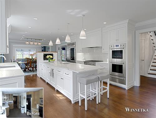 Winnetka Kitchen Remodel