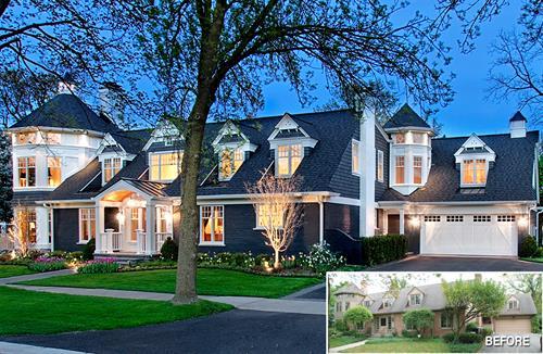 Home Remodel Winnetka Historic Preservation Award