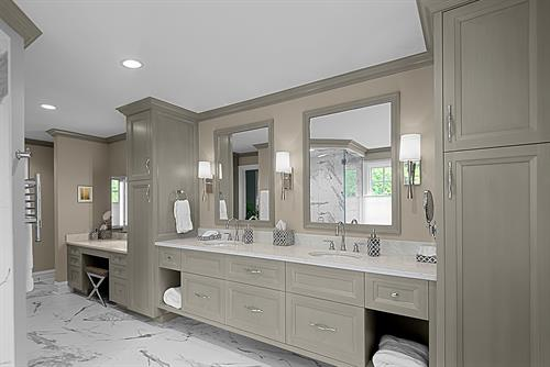 Modern Bathroom Remodel Winnetka