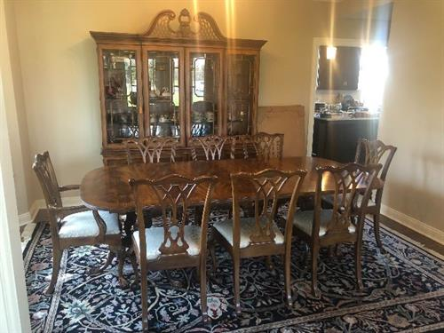 Baker Table and Chair Set at Winnetka Estate Sale