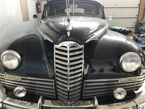 1947 Packard Limo, Super 8