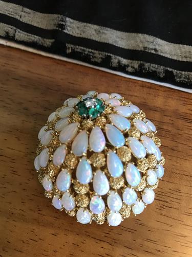Opal / Gold jewelry