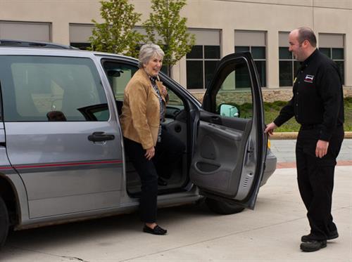 Free loaner cars and customer shuttle