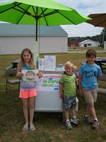Cool Treats For Charity and Allie, Ian and Isaiah at our first event, Responsible Pet Care's Fun Dog Day, 2013