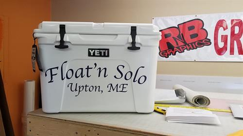 Customized Cooler