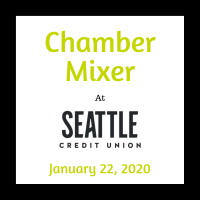 Chamber Mixer at Seattle Credit Union