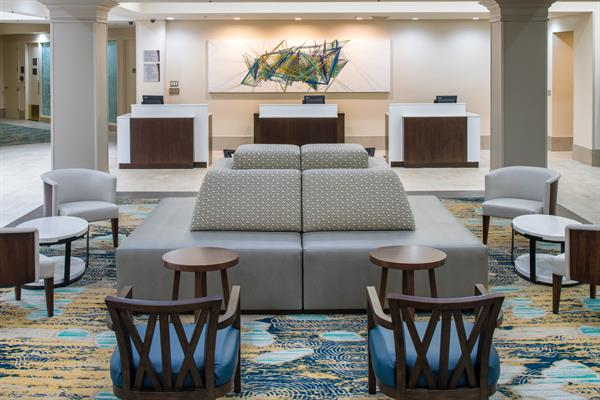 Newly renovated Lobby - Use NEW Digitial Check In & Digital Room Key from your phone!