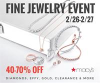 Macy's Clearance Event, Treasure Hunt, and Diamond Give-Away! Westfield Southcenter