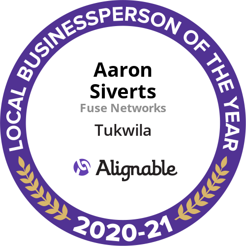 Alignable 2021 Local Businessperson of the Year Award