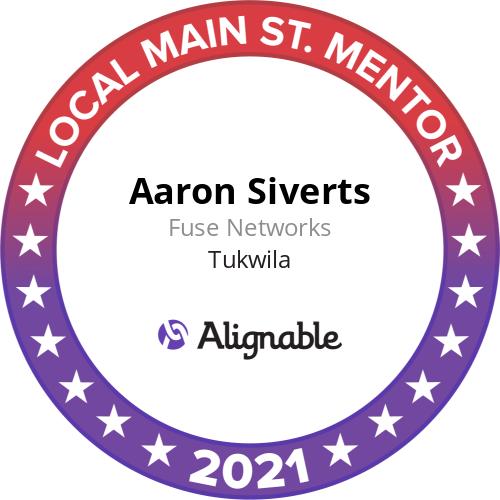 Alignable 2021 Local Main Street Mentor Award
