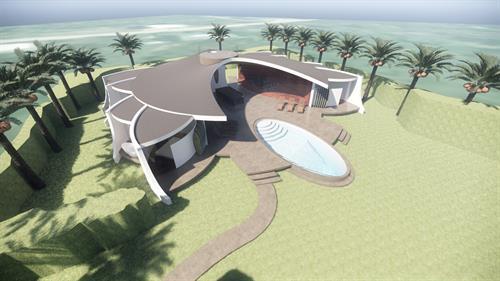 Wave House Santa Teresa, Costa Rica, Concept Beach House Design
