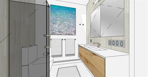 Bath Materials: San Francisco, California Remodel and Addition