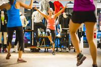 Local Business Partnership and Dance Event at Athleta
