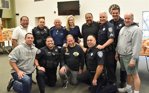 Cops n Gobblers team